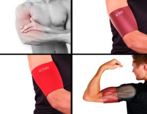 Bicep and Tricep Support for Sport and RSI
